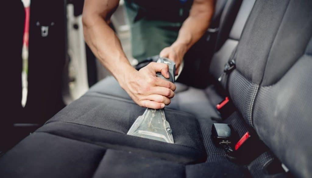 Vacuum Clean Car Interiors