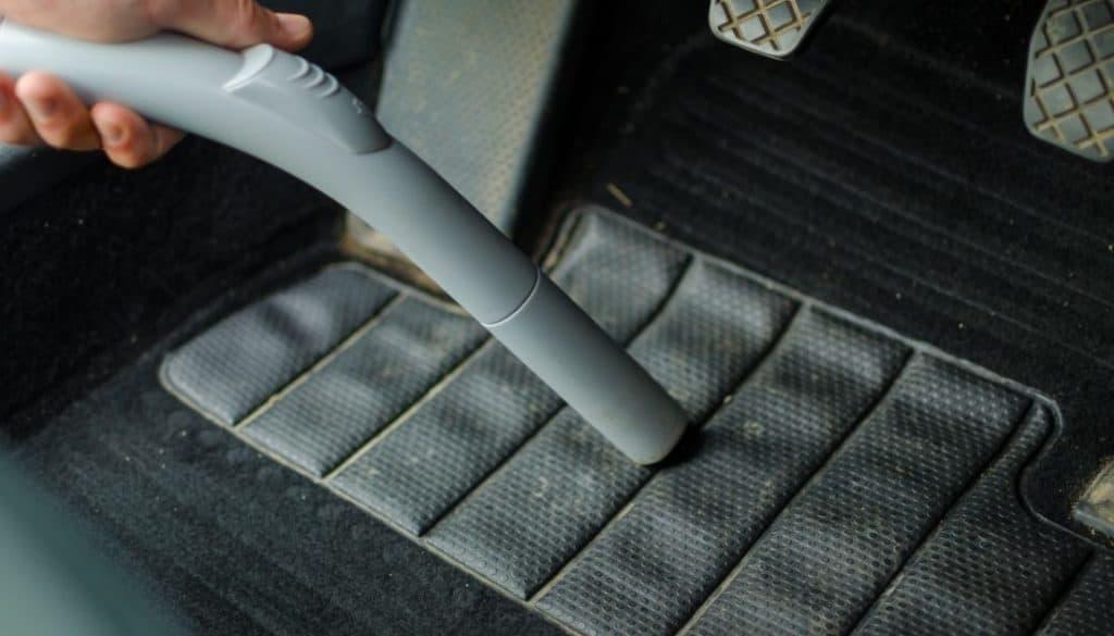 Vacuum Cleaning Car's Interiors