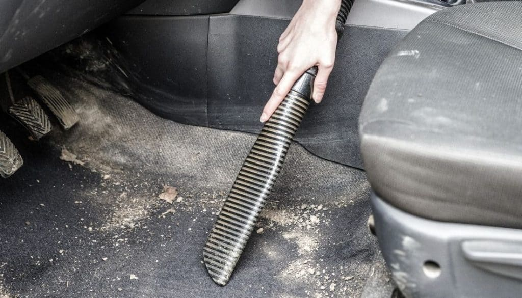Vacuum clean your car