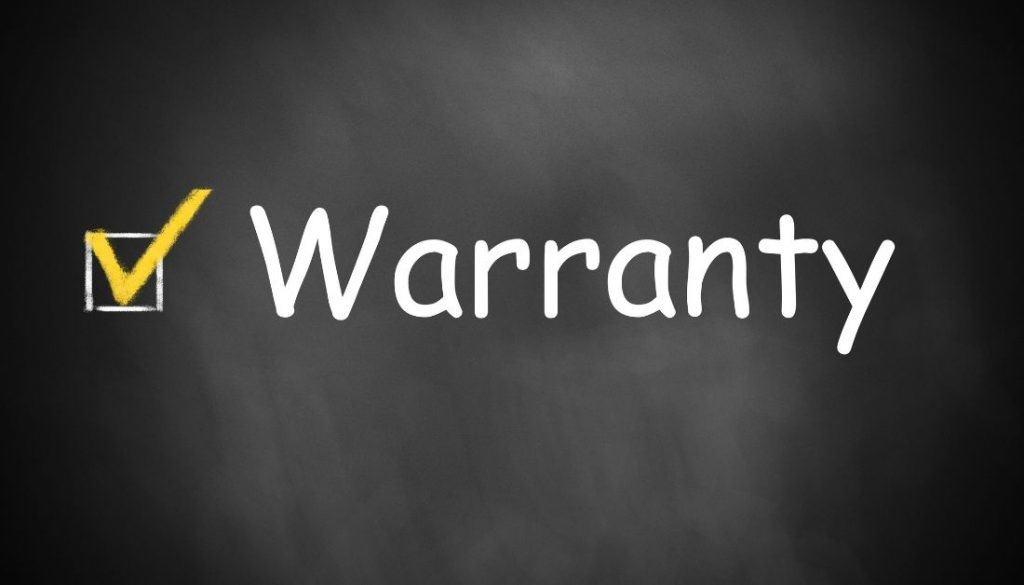 Post Treatment Warranty