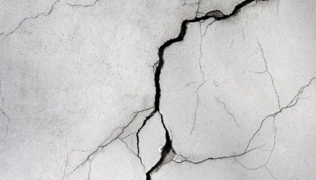 Cracks on basement walls