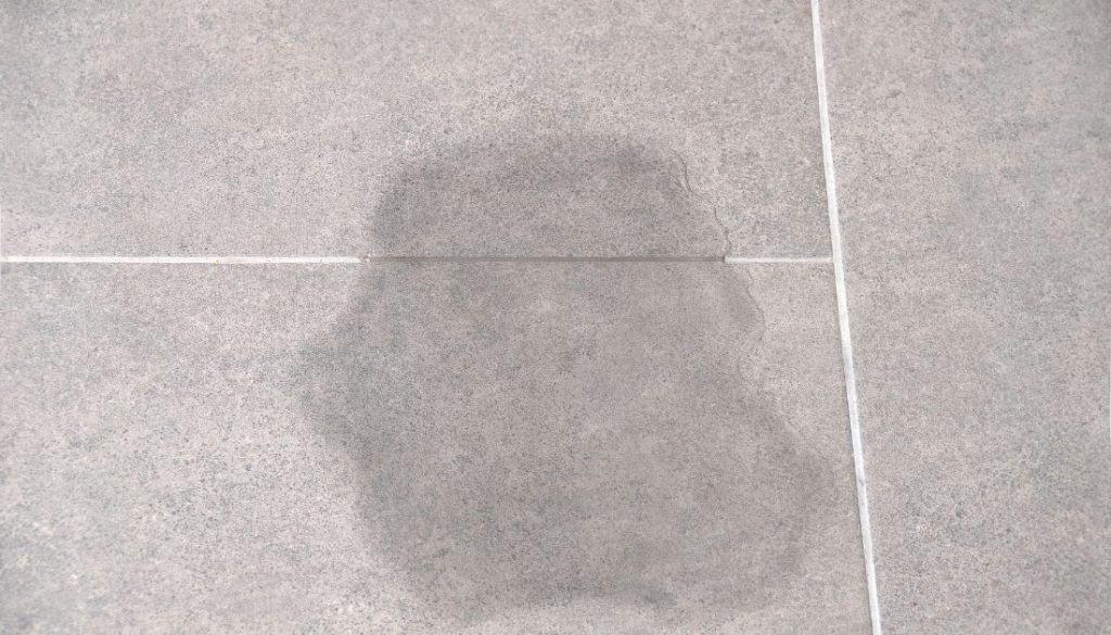 Dampness on basement floor
