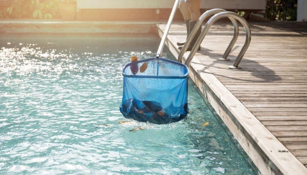 Clean The Swimming Pool To Remove Debris