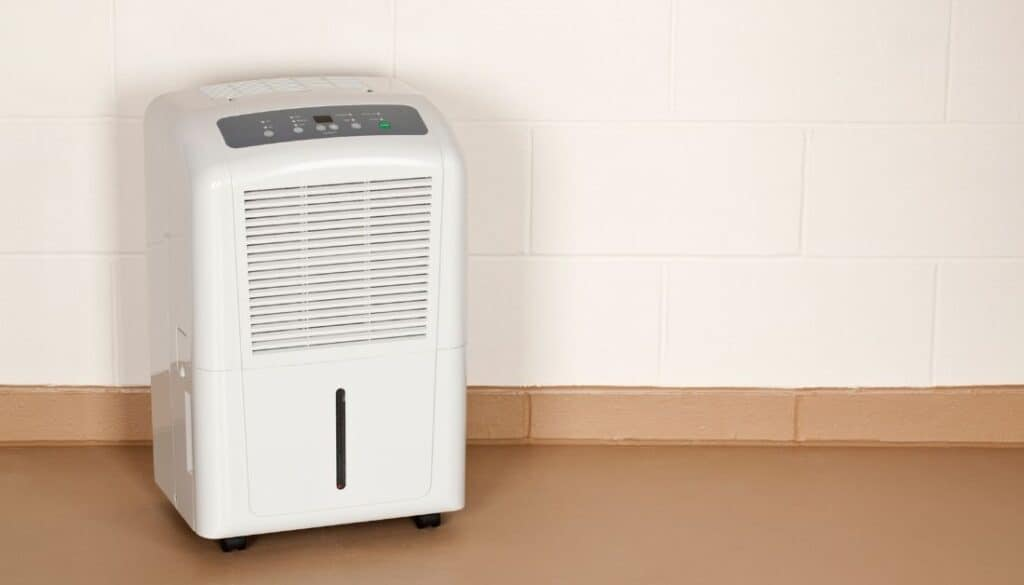 Dehumidifier to stop mites from entering your house